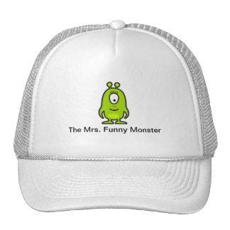 The Mrs. Funny Monster Trucker Hat