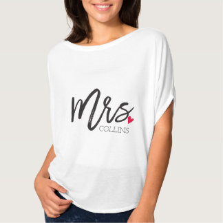 The Mrs. Shoppe | Personalized Mrs. T-Shirt