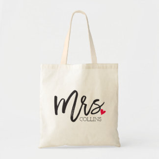 The Mrs. Shoppe | Personalized Mrs. Tote Bag