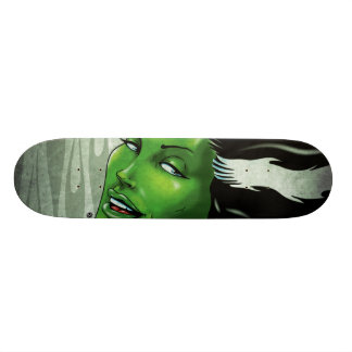 The Mrs. Skateboard Deck