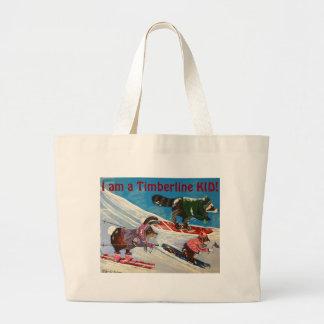 The Ms. Elizabeth Ski Team Large Tote Bag