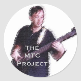 The MTC Project Classic Round Sticker