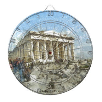 The much visited Acropolis Dartboards
