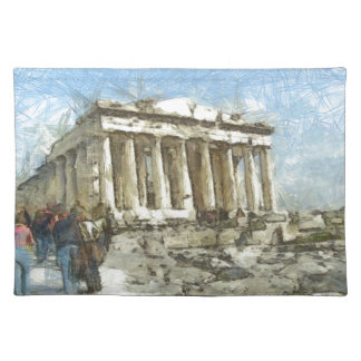 The much visited Acropolis Placemat