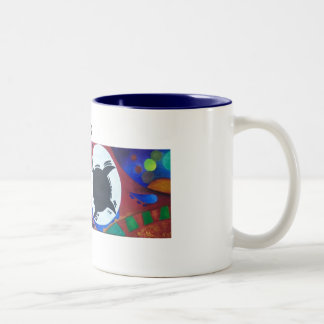 "The Mug ""One"" (blue inside), by Larry & Foxes"