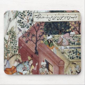 The Mughal Emperor Babur Mouse Pad
