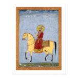 The Mughal Emperor Farrukhsiyar(1683-1719) (r.1713 Postcards