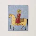 The Mughal Emperor Farrukhsiyar(1683-1719) (r.1713 Jigsaw Puzzles