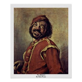 The Mulatto By Hals Frans Poster