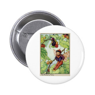 The Mulberry  Fairy Button