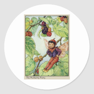 The Mulberry  Fairy Classic Round Sticker
