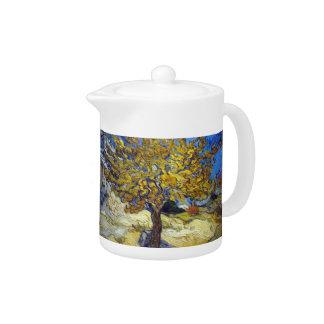 The Mulberry Tree. Vincent Van Gogh. Fmous art.