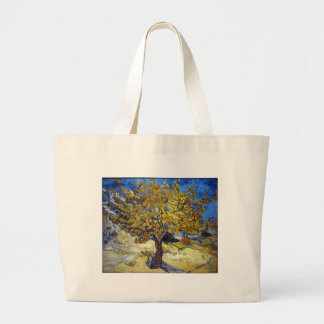 The Mulberry Tree, Vincent van Gogh. Vintage Tote Bags