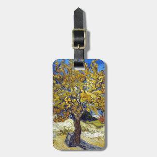 The Mulberry Tree, Vincent van Gogh. Vintage Bag Tag