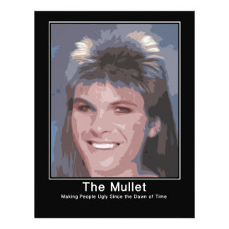 The Mullet making people ugly since the dawn of ti Letterhead