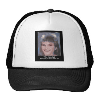 The Mullet making people ugly since the dawn of ti Trucker Hat