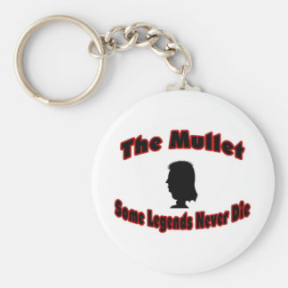 The Mullet-Some Legends Never Die Keychain