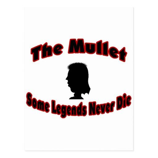 The Mullet-Some Legends Never Die Postcard