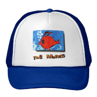 The Mullets CD Cover Art Trucker's Hat