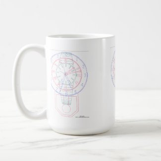 The Multiclock Trio Mugs