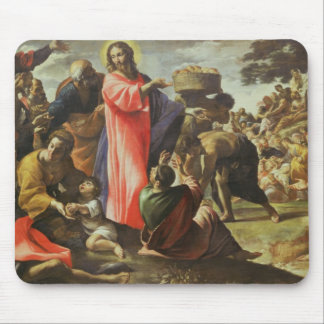 The Multiplication of the Loaves and Fishes Mouse Pad