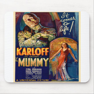 The Mummy 1932 Film Mouse Pads