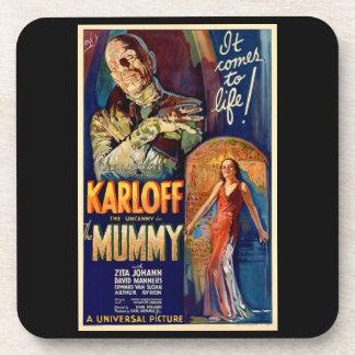 The Mummy Monster Movie Coasters