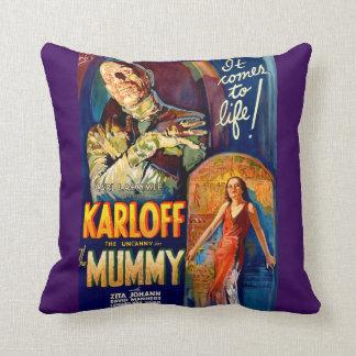 The Mummy Throw Pillow