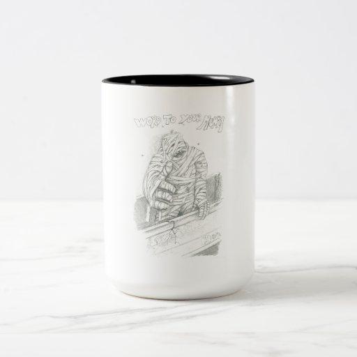The Mummy Two-Tone Coffee Mug