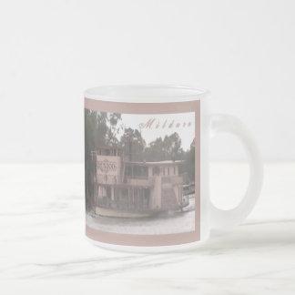 The Mundoo 10 Oz Frosted Glass Coffee Mug