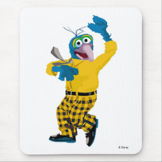 The Muppet Gonzo dressed up waving Disney Mouse Pad