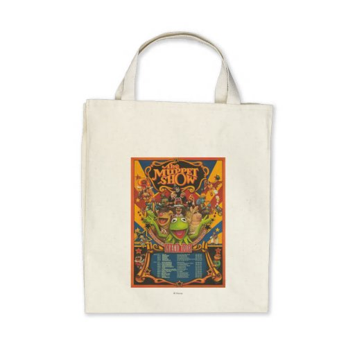 The Muppet Show - Grand Tour Poster Tote Bags