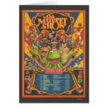 The Muppet Show - Grand Tour Poster Greeting Card