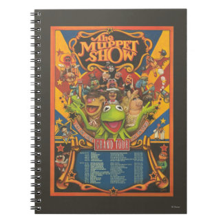 The Muppet Show - Grand Tour Poster Notebook