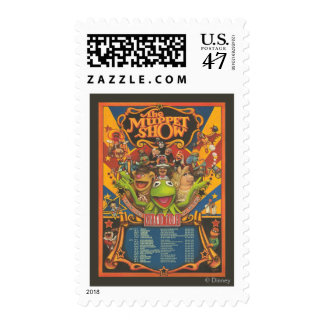 The Muppet Show - Grand Tour Poster Postage Stamp