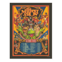 The Muppet Show - Grand Tour Poster Postcard
