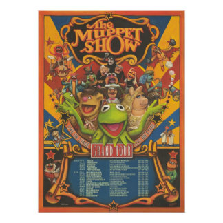 The Muppet Show - Grand Tour Poster Print