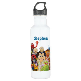 The Muppets 2 24oz Water Bottle