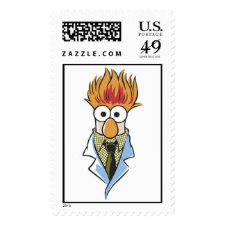 The Muppets Bunsen Disney Postage Stamps