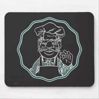 The Muppets   Chef Framed Mouse Pad