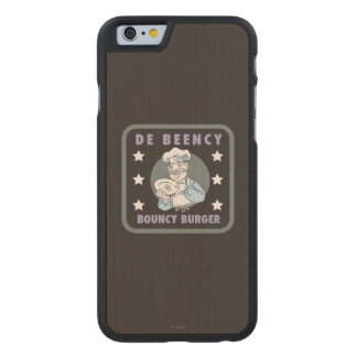 The Muppets | De Beency Bouncy Burger Logo Carved Maple iPhone 6 Slim Case