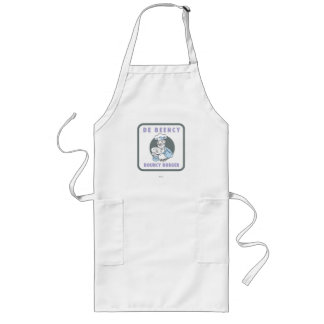 The Muppets | De Beency Bouncy Burger Logo Long Apron