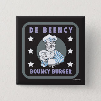 The Muppets | De Beency Bouncy Burger Logo Pinback Button