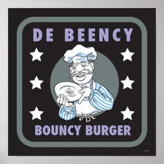 The Muppets | De Beency Bouncy Burger Logo Poster