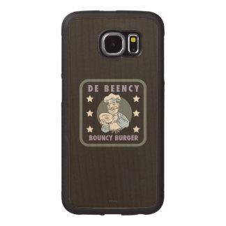 The Muppets | De Beency Bouncy Burger Logo Wood Phone Case