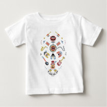 The Muppets Electric Mayhem Iconic Shape Graphic Baby T-Shirt