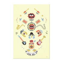 The Muppets Electric Mayhem Iconic Shape Graphic Canvas Print