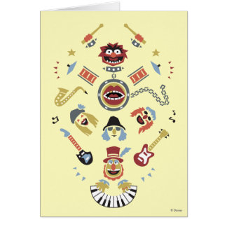 The Muppets Electric Mayhem Iconic Shape Graphic Card