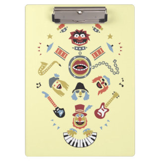 The Muppets Electric Mayhem Iconic Shape Graphic Clipboard