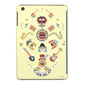 The Muppets Electric Mayhem Iconic Shape Graphic iPad Mini Cases